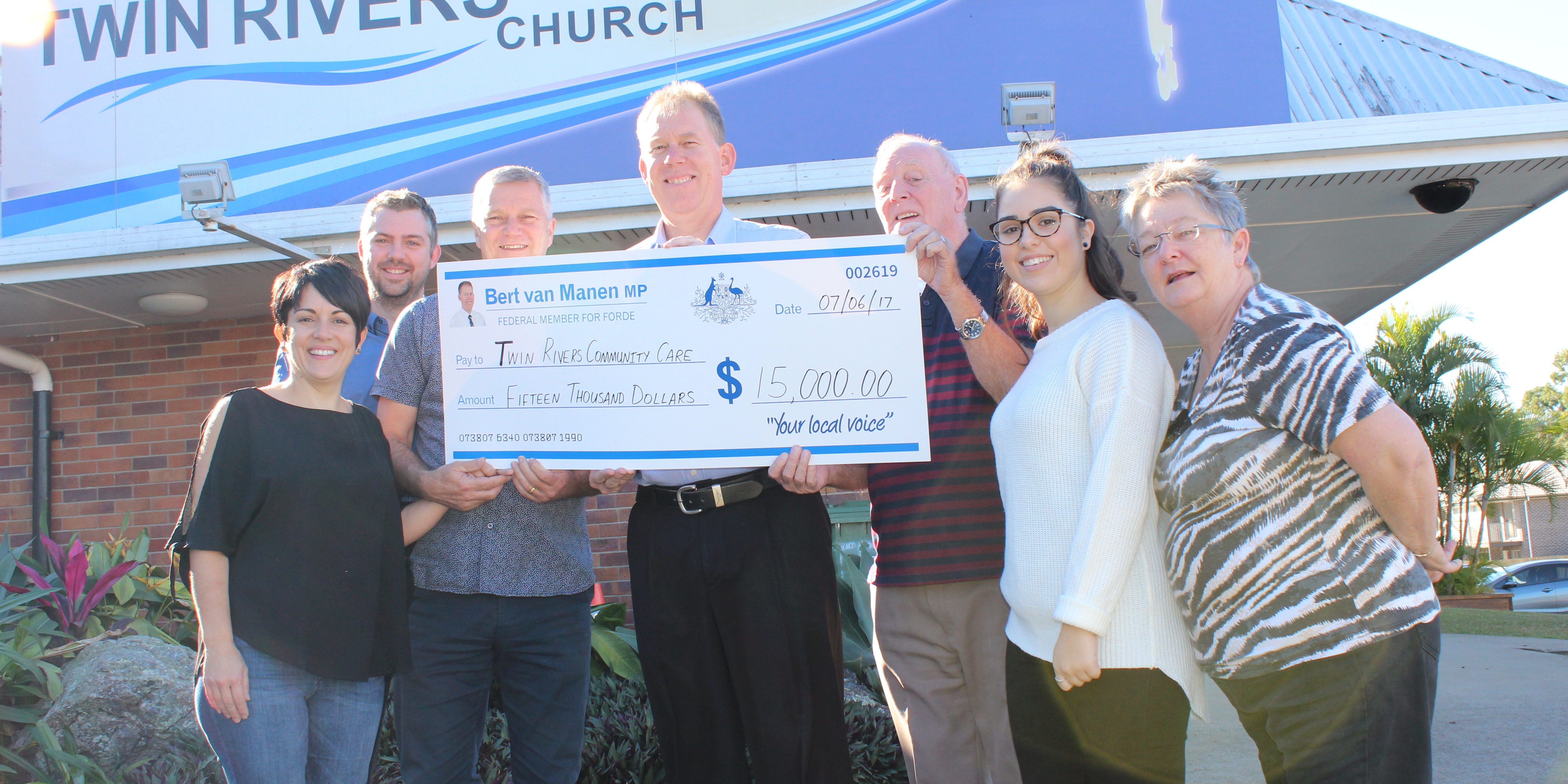 Twin Rivers Community Care Gets 15 000 Funding Boost